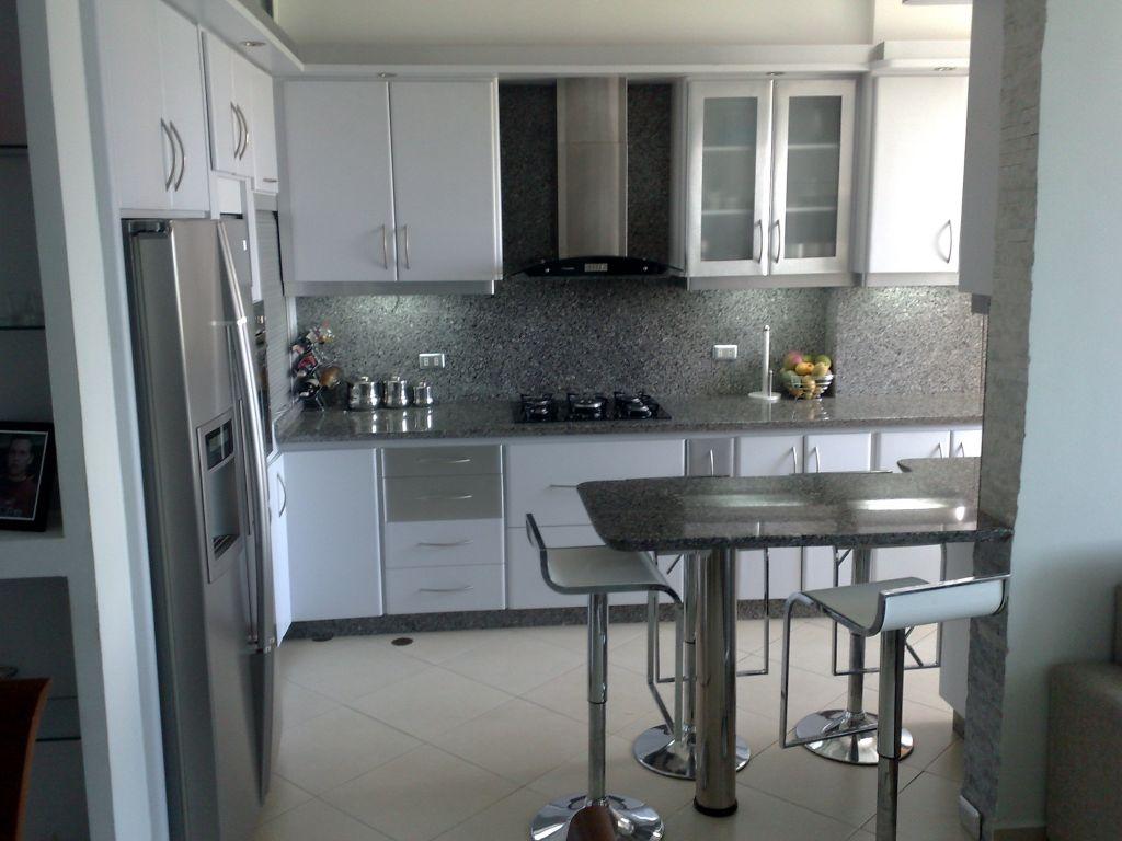 Cocinas integrales modernas para espacios peque os - Modelos de cocinas pequenas y sencillas ...