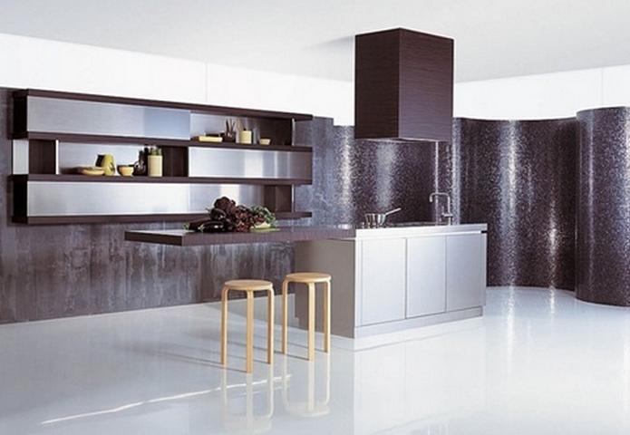 Stunning Diseño Cocinas Minimalistas Ideas - Casas: Ideas, imágenes ...