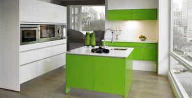 Muebles cocina minimalista