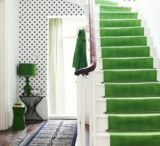 escalera-en-verde
