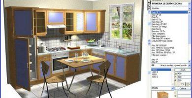 Software para diseñar cocinas