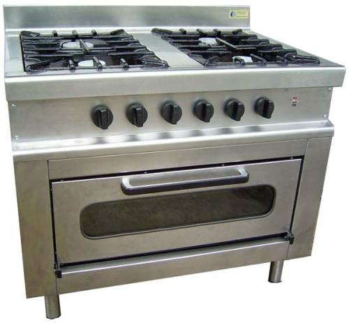 Cocinas industriales para el hogar