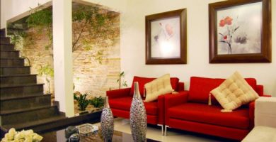 Decoración de sala moderna 560x373