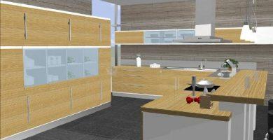 Diseño de cocinas 3d