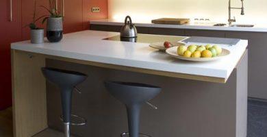 Diseños de barras para cocinas
