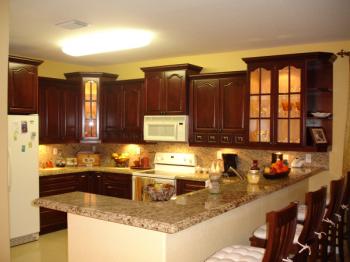 Fotos de cocinas integrales de madera