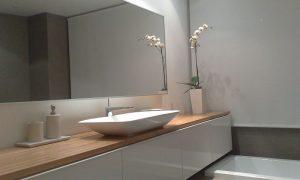 Fotos imagenes fotografias decoracion baños minimalistas