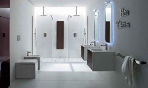 Fotos imagenes fotografias decoracion baños rusticos