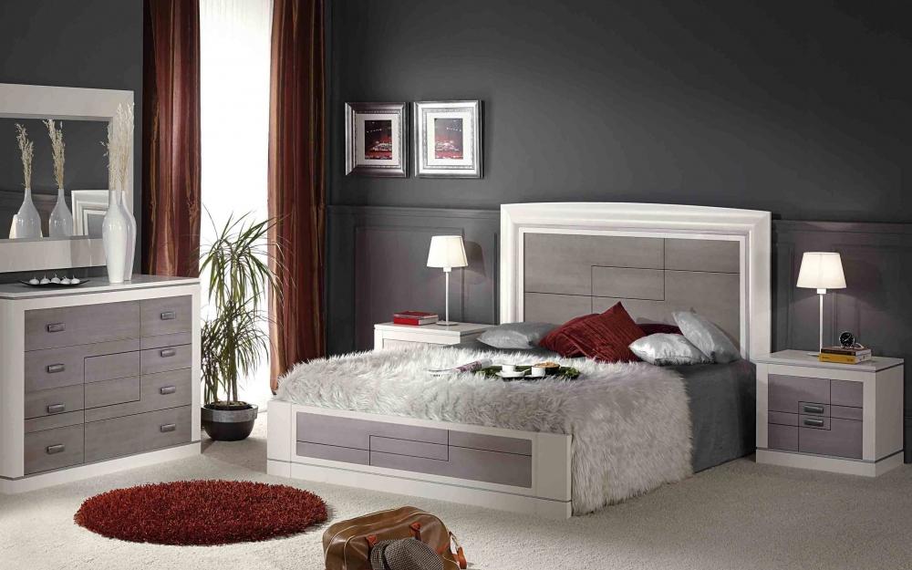 Dormitorios plateados