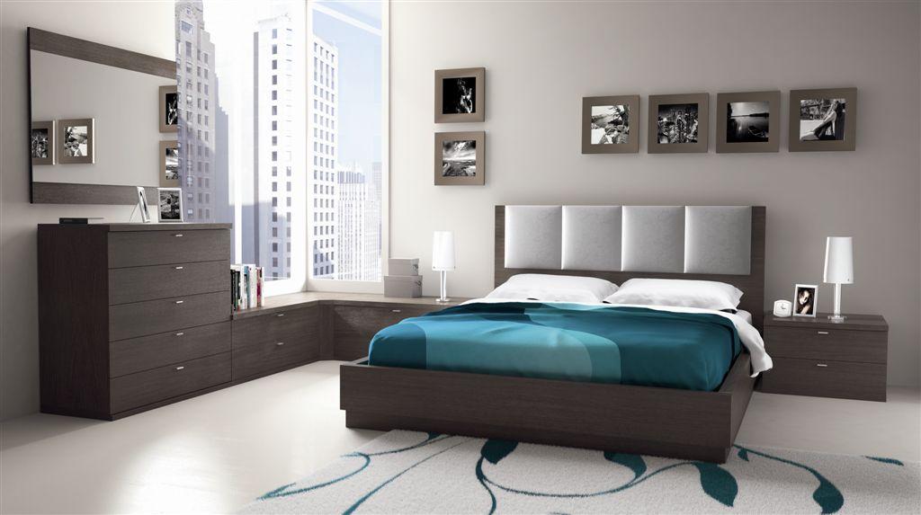 Dormitorios plateados for Recamaras juveniles modernas