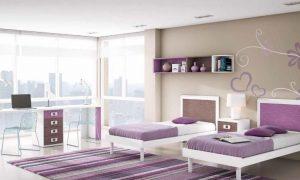 dormitorios color lila