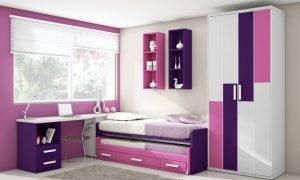 fotos dormitorios color lila