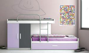 habitacion lila blanco