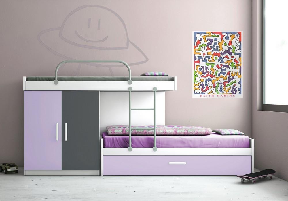 Habitaciones Infantiles Color Lila.11 Fotos Con Ideas Para Decorar Cuartos Infantiles