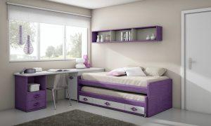 pintar dormitorio lila