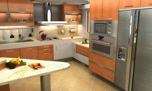 tipos de cocina arquitectura