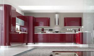 Decorar una cocina con el color rojo