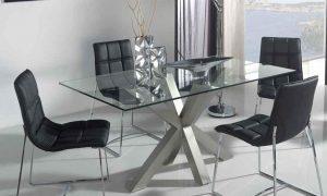 Fotos consejos e imagenes comedores minimalistas 8 sillas
