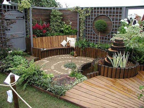 Patios y exteriores_decoracion de jardin exterior