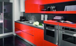 el rojo en las cocinas