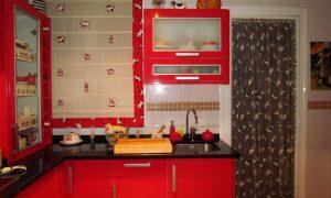 paredes pintadas de rojo