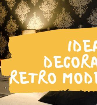 retro moderno decoracion