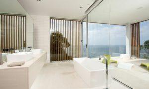 deco baño moderno blanco