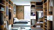 vestidor habitación