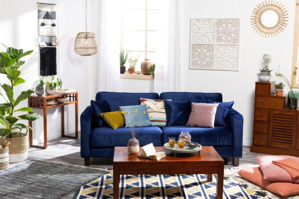 imagen sofa en casa