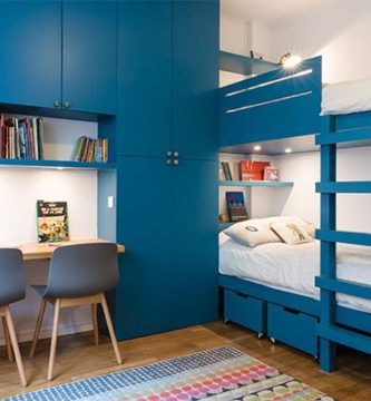 habitación-de-niño-decorada-en-azul