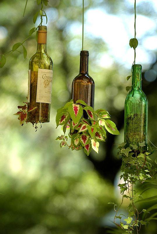 botellas-cristal-florero-colgante