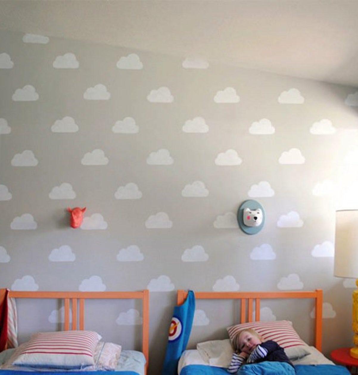 habitación con nubes imagen