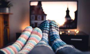 relajarse en casa