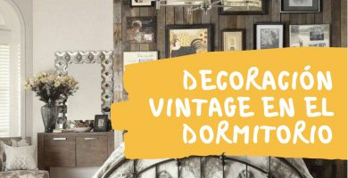 decoracion vintage dormitorio
