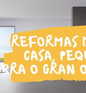 reforma de la casa