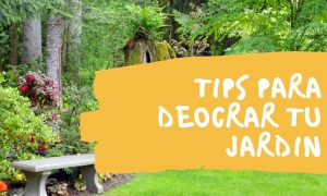 tips para decorar jardin