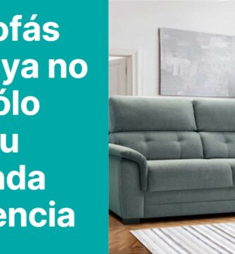 Los sofas cama ya no son solo para tu segunda residencia